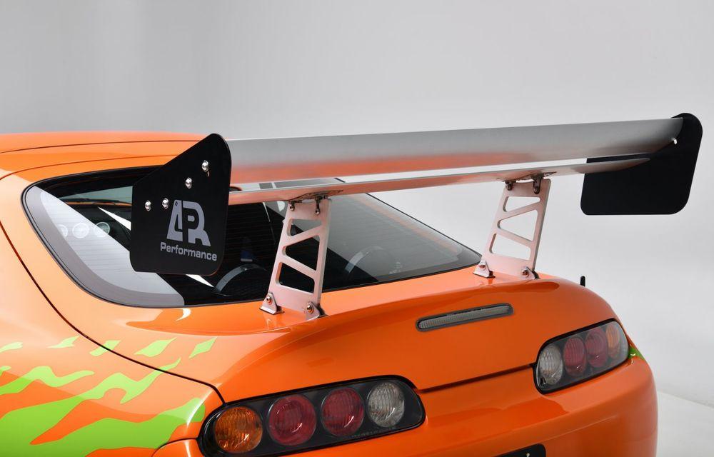 Se vinde mașina care l-a făcut celebru pe Paul Walker în Fast & Furious: Toyota Supra - Poza 9