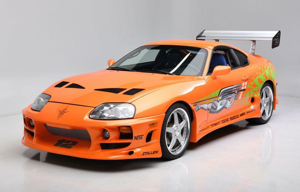 Se vinde mașina care l-a făcut celebru pe Paul Walker în Fast & Furious: Toyota Supra - Poza 1