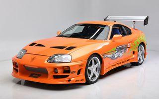 Se vinde mașina care l-a făcut celebru pe Paul Walker în Fast & Furious: Toyota Supra
