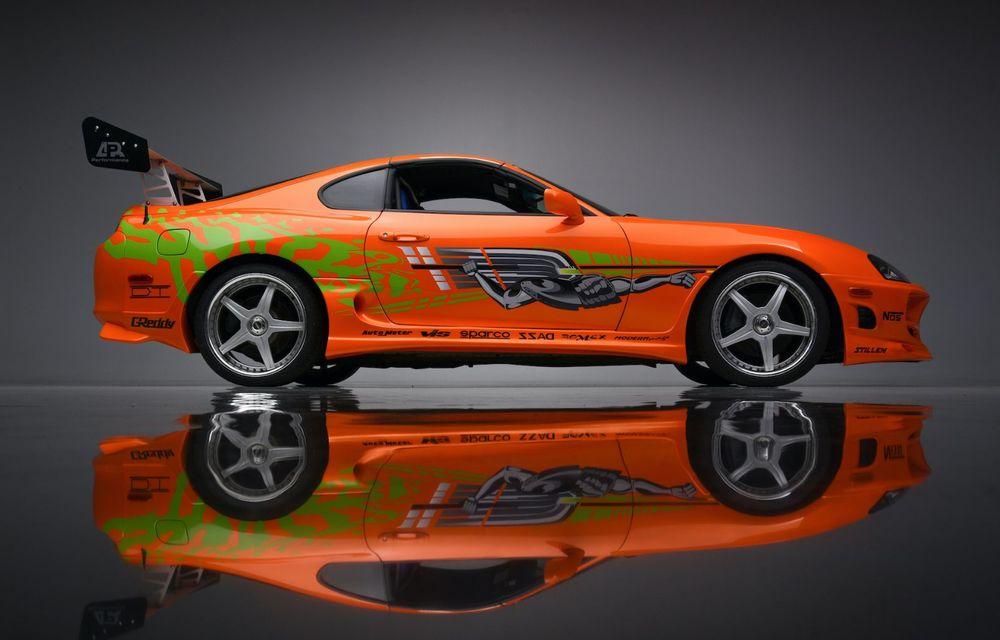 Se vinde mașina care l-a făcut celebru pe Paul Walker în Fast & Furious: Toyota Supra - Poza 6