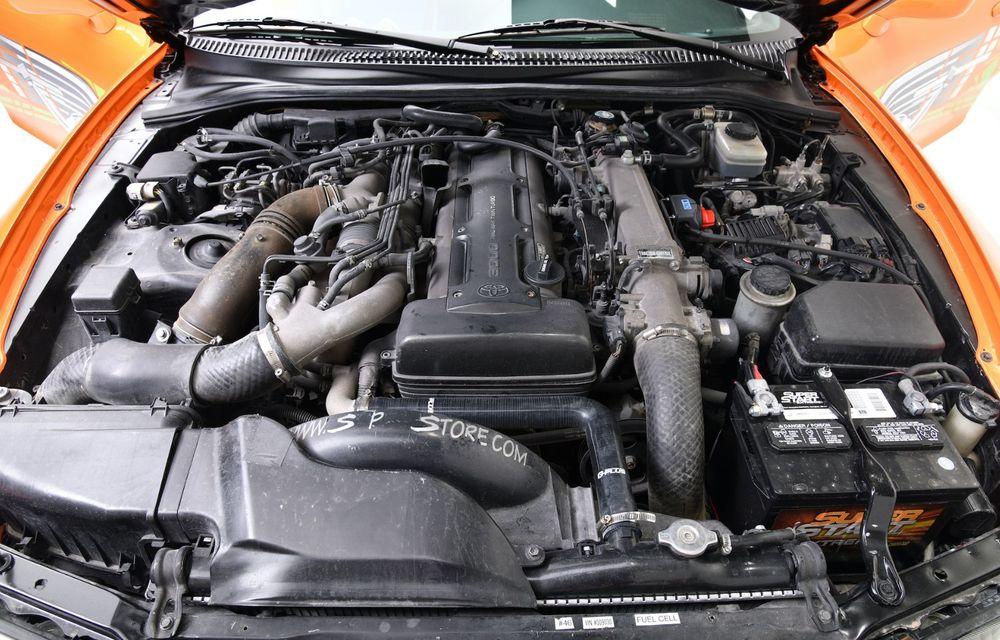 Se vinde mașina care l-a făcut celebru pe Paul Walker în Fast & Furious: Toyota Supra - Poza 10