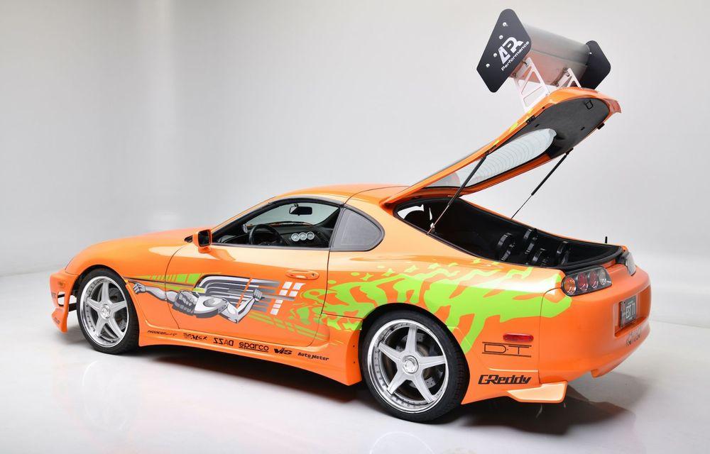 Se vinde mașina care l-a făcut celebru pe Paul Walker în Fast & Furious: Toyota Supra - Poza 4