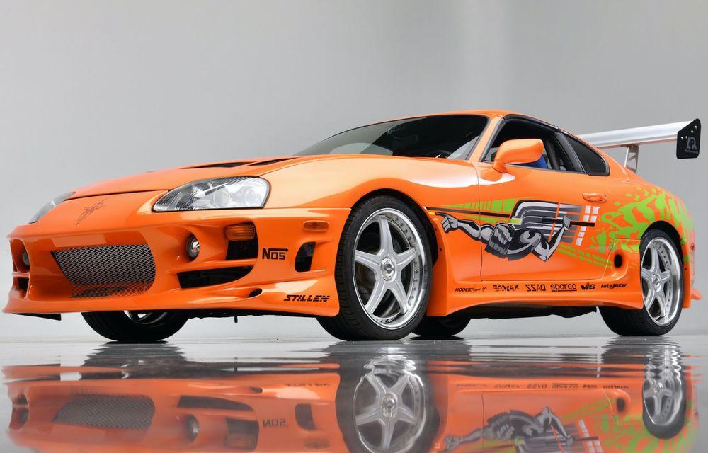Se vinde mașina care l-a făcut celebru pe Paul Walker în Fast & Furious: Toyota Supra - Poza 7