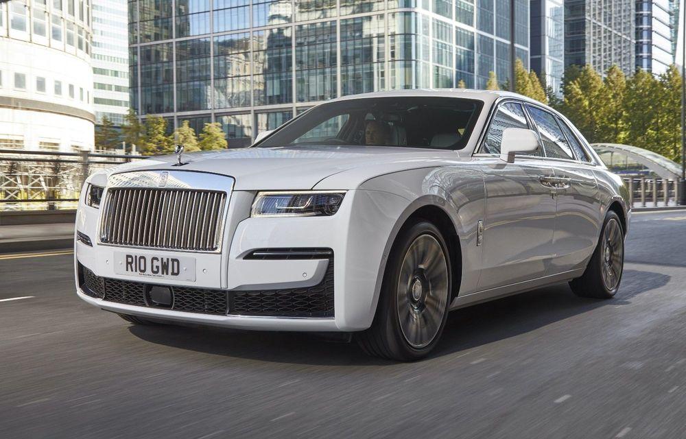 Rolls-Royce confirmă dezvoltarea viitorului model electric Silent Shadow - Poza 1
