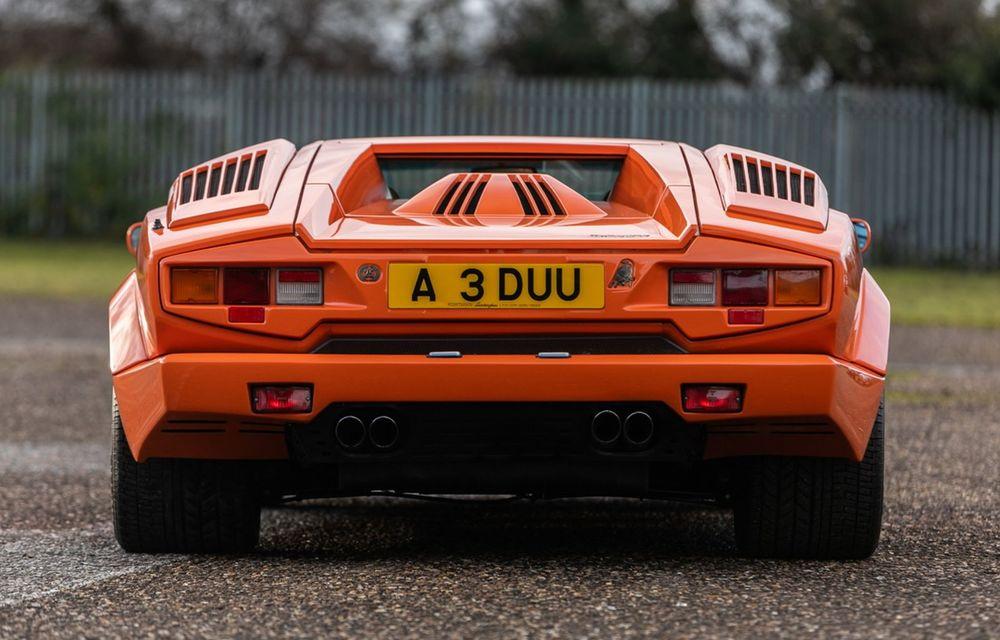 Countach la aniversare: designul legendar care încă influențează modelele Lamborghini - Poza 9