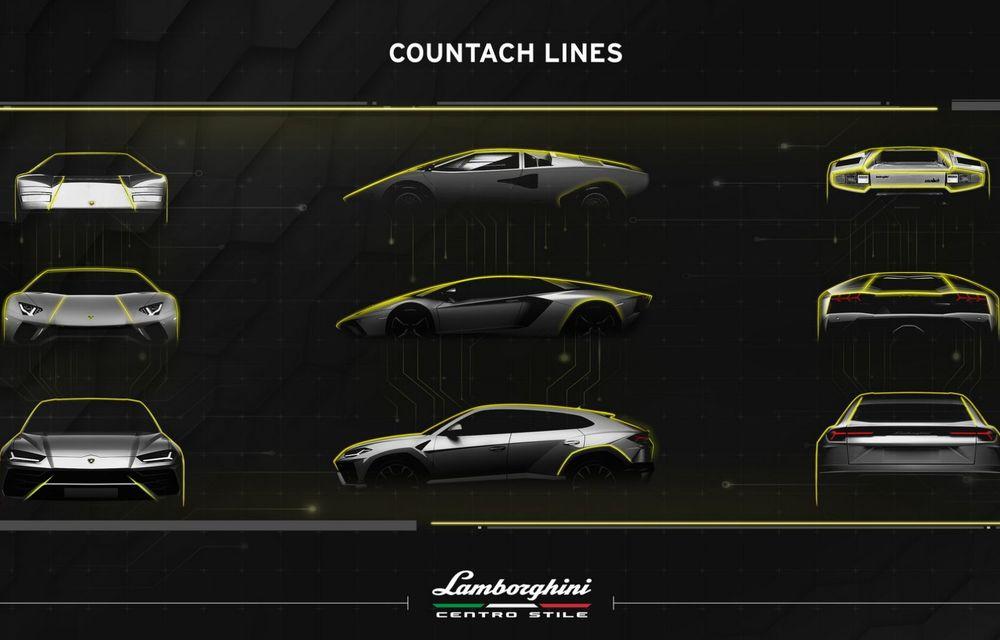 Countach la aniversare: designul legendar care încă influențează modelele Lamborghini - Poza 17