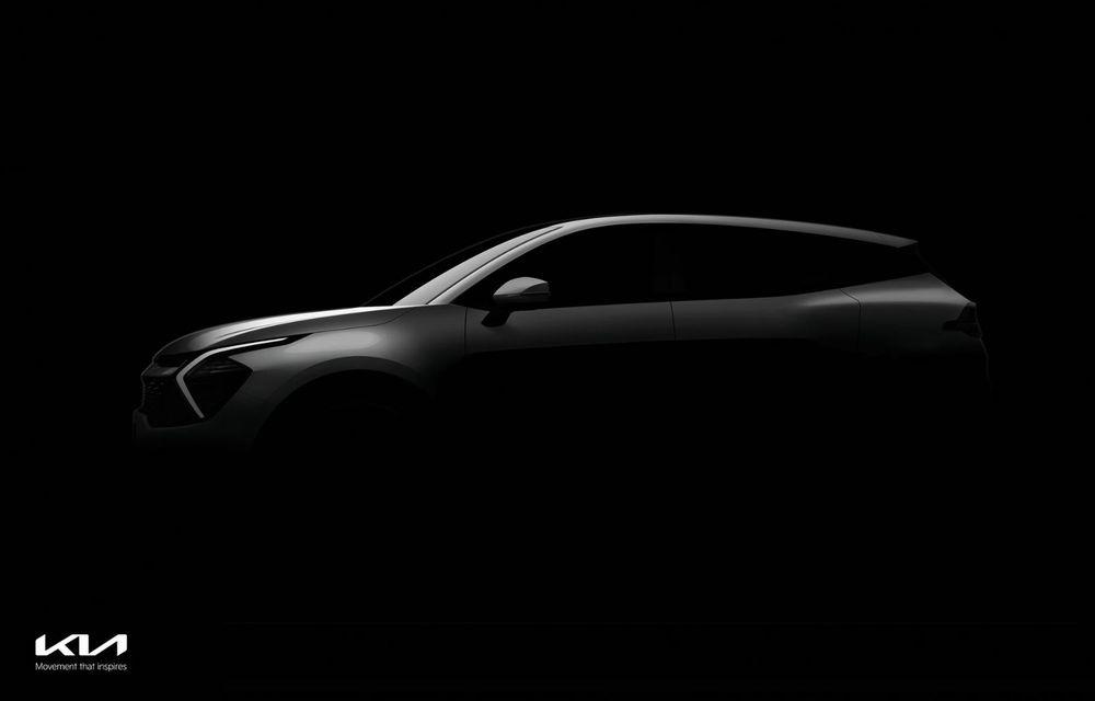 Kia a publicat primele imagini cu viitorul Sportage. Interiorul preia tehnologia electricului EV6 - Poza 1