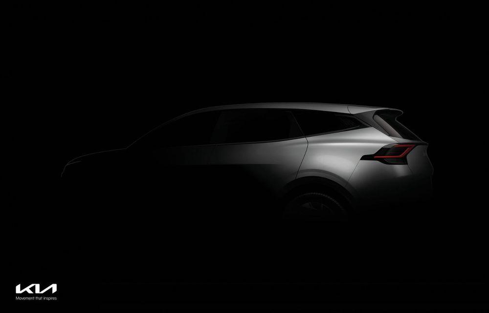 Kia a publicat primele imagini cu viitorul Sportage. Interiorul preia tehnologia electricului EV6 - Poza 2