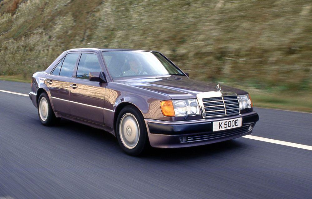 În urmă cu 30 de ani, Mercedes-Benz și Porsche și-au unit forțele pentru a crea celebrul sedan 500 E - Poza 1