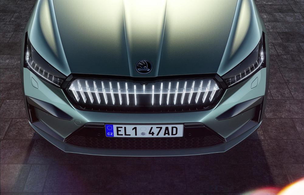 """Mașinile din """"Aventour la feminin"""" by Textar: Skoda Enyaq, un SUV electric cu autonomie mare și aer premium - Poza 9"""