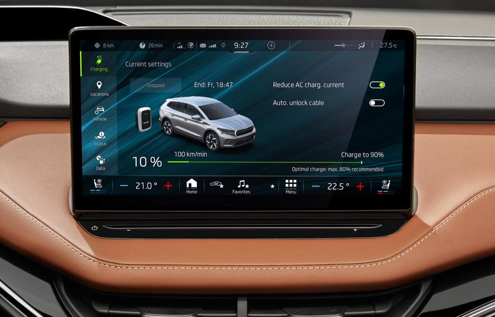 """Mașinile din """"Aventour la feminin"""" by Textar: Skoda Enyaq, un SUV electric cu autonomie mare și aer premium - Poza 23"""