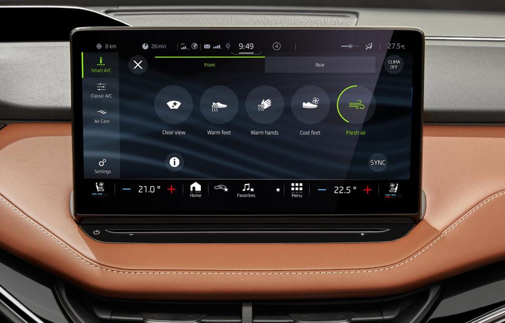 """Mașinile din """"Aventour la feminin"""" by Textar: Skoda Enyaq, un SUV electric cu autonomie mare și aer premium - Poza 25"""
