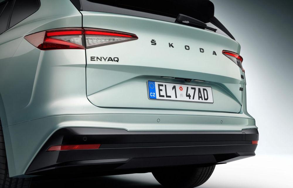 """Mașinile din """"Aventour la feminin"""" by Textar: Skoda Enyaq, un SUV electric cu autonomie mare și aer premium - Poza 7"""