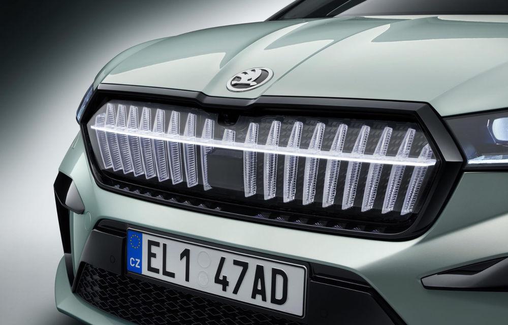 """Mașinile din """"Aventour la feminin"""" by Textar: Skoda Enyaq, un SUV electric cu autonomie mare și aer premium - Poza 6"""