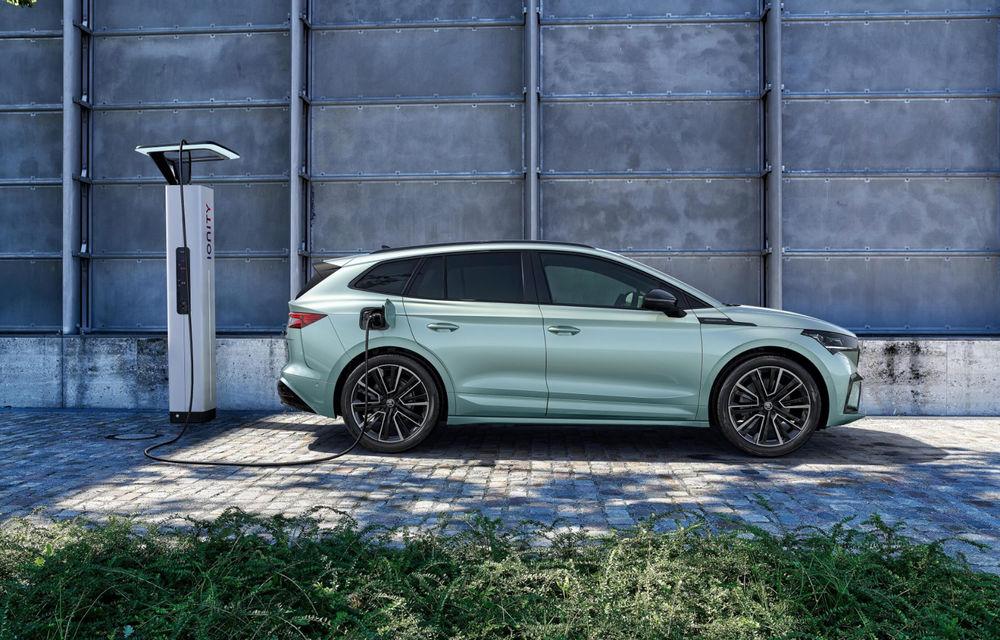 """Mașinile din """"Aventour la feminin"""" by Textar: Skoda Enyaq, un SUV electric cu autonomie mare și aer premium - Poza 15"""