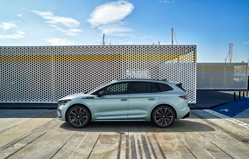 """Mașinile din """"Aventour la feminin"""" by Textar: Skoda Enyaq, un SUV electric cu autonomie mare și aer premium - Poza 12"""