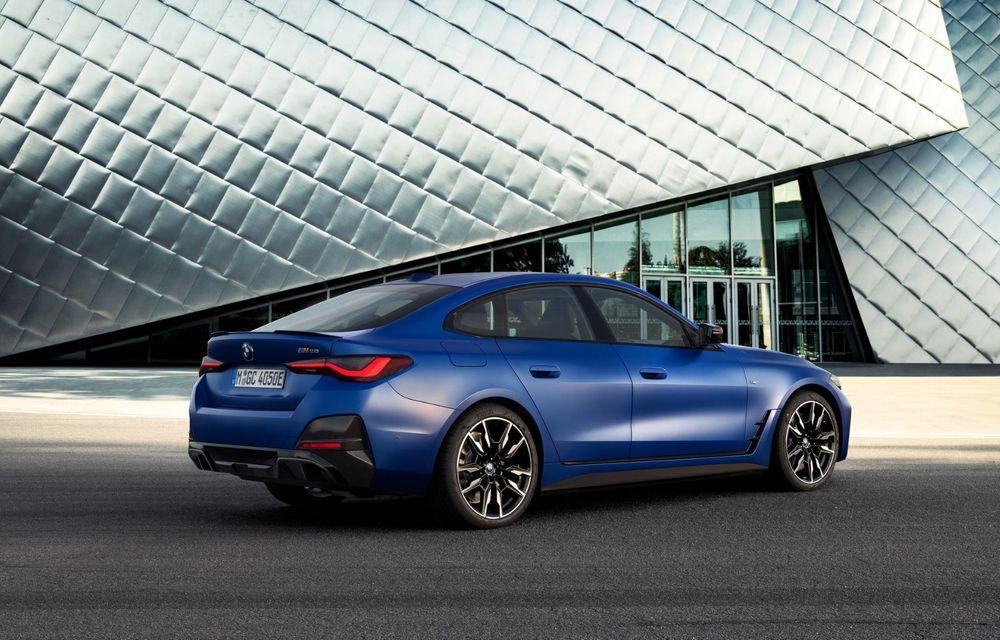 BMW a publicat toate detaliile despre electricul i4: versiune M50 cu 544 de cai putere - Poza 16