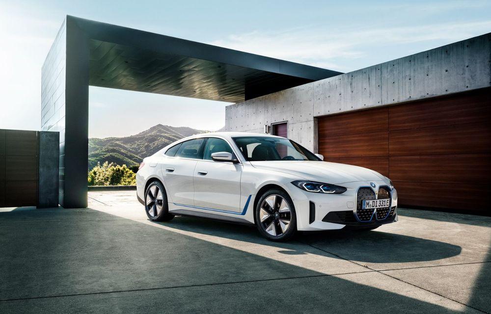 BMW a publicat toate detaliile despre electricul i4: versiune M50 cu 544 de cai putere - Poza 5