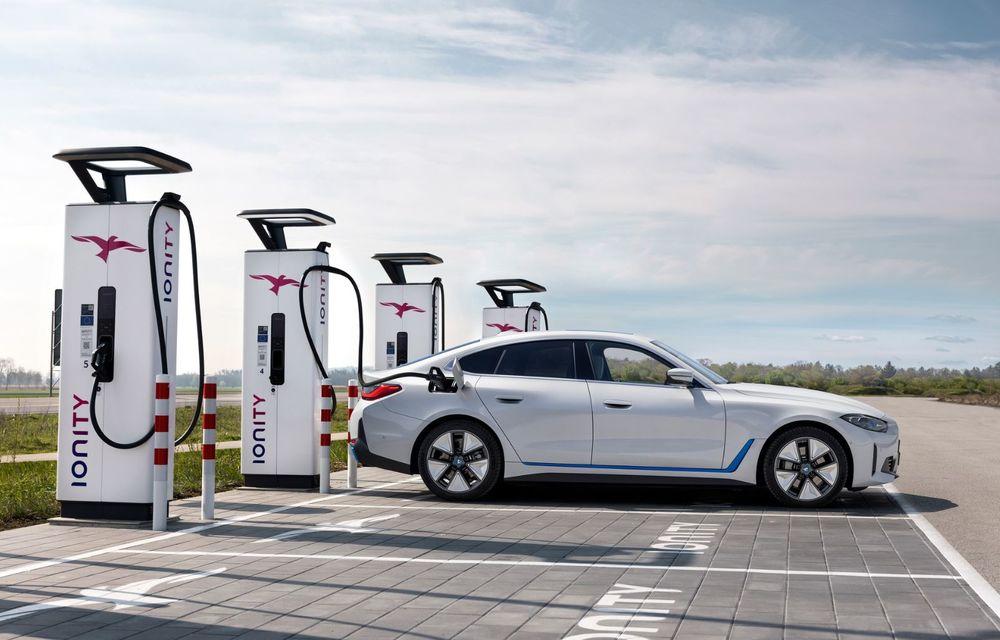 BMW a publicat toate detaliile despre electricul i4: versiune M50 cu 544 de cai putere - Poza 8