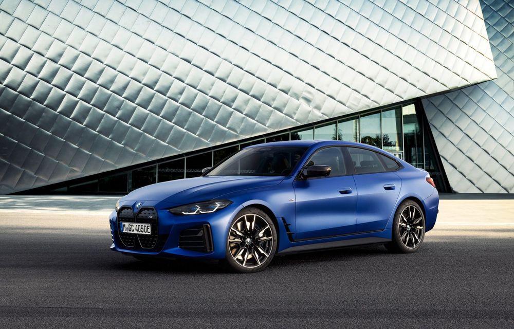 BMW a publicat toate detaliile despre electricul i4: versiune M50 cu 544 de cai putere - Poza 14