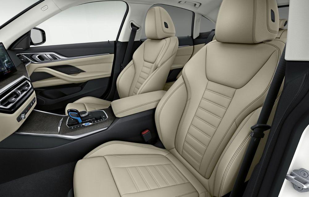 BMW a publicat toate detaliile despre electricul i4: versiune M50 cu 544 de cai putere - Poza 12
