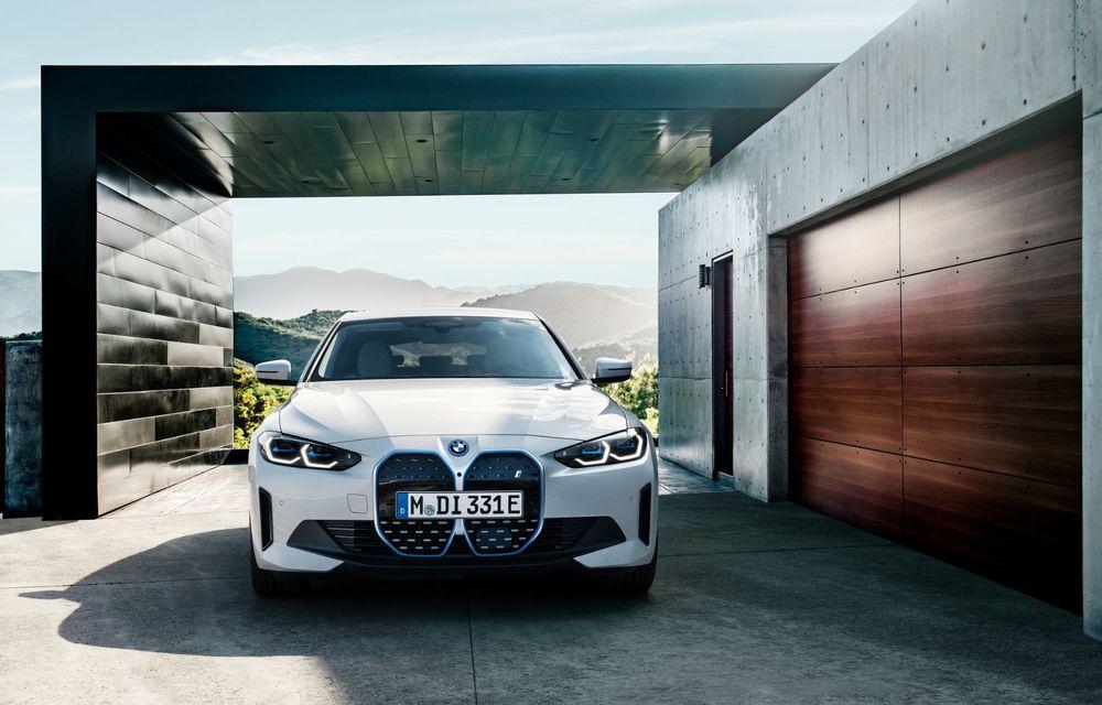 BMW a publicat toate detaliile despre electricul i4: versiune M50 cu 544 de cai putere - Poza 4