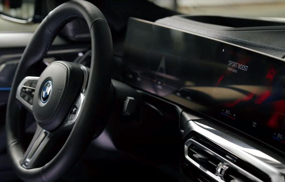 BMW a publicat toate detaliile despre electricul i4: versiune M50 cu 544 de cai putere - Poza 22