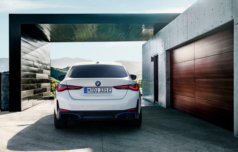 BMW a publicat toate detaliile despre electricul i4: versiune M50 cu 544 de cai putere - Poza 6