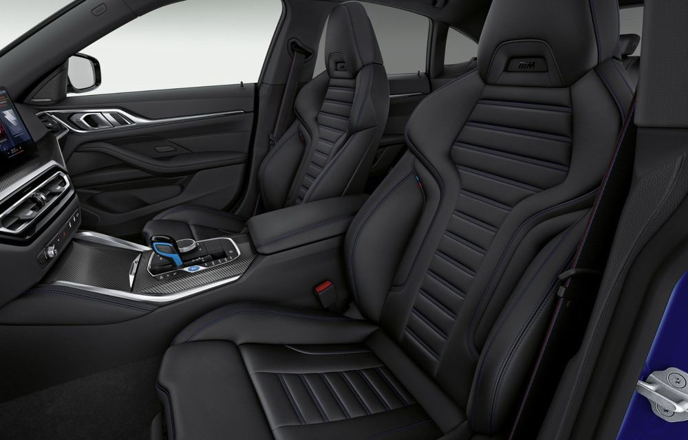 BMW a publicat toate detaliile despre electricul i4: versiune M50 cu 544 de cai putere - Poza 21