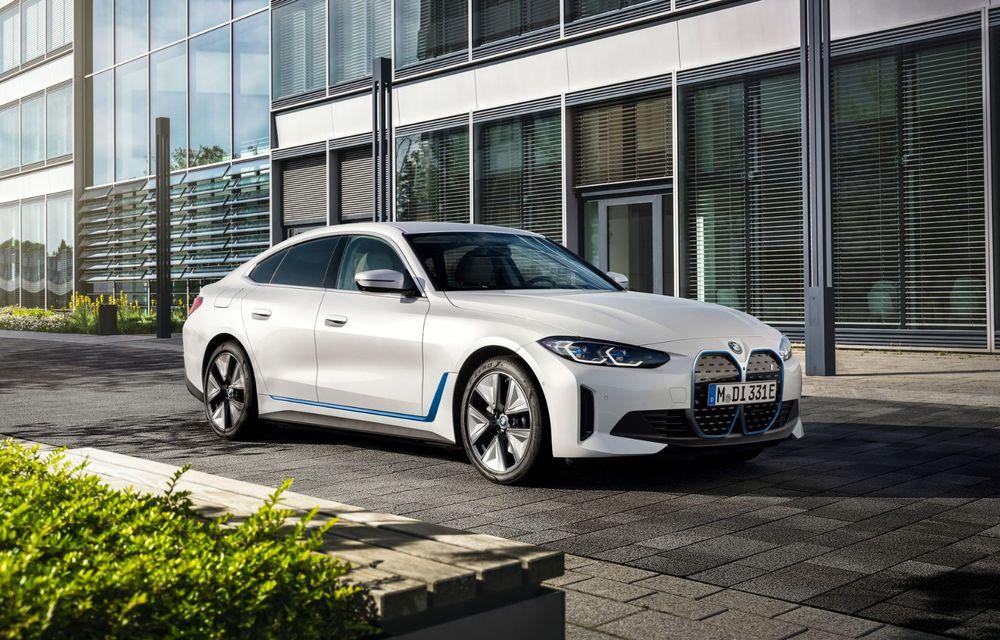 BMW a publicat toate detaliile despre electricul i4: versiune M50 cu 544 de cai putere - Poza 10