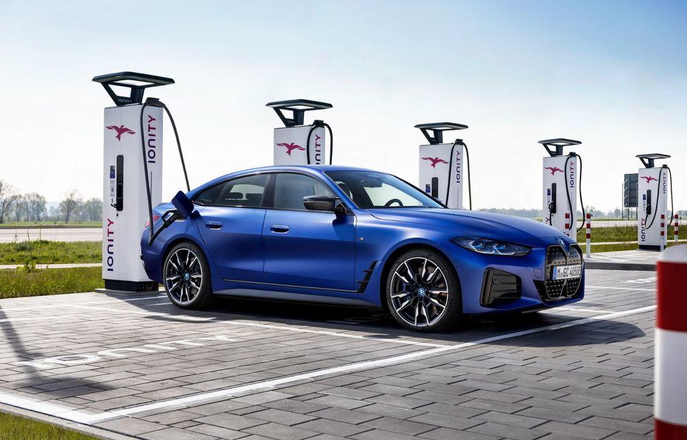 BMW a publicat toate detaliile despre electricul i4: versiune M50 cu 544 de cai putere - Poza 17