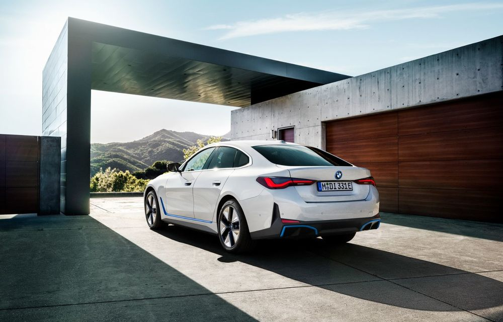 BMW a publicat toate detaliile despre electricul i4: versiune M50 cu 544 de cai putere - Poza 7