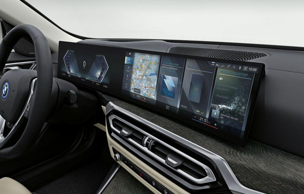 BMW a publicat toate detaliile despre electricul i4: versiune M50 cu 544 de cai putere - Poza 13