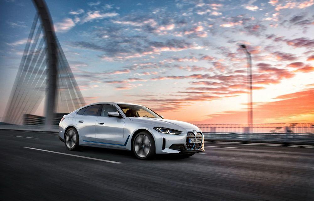 BMW a publicat toate detaliile despre electricul i4: versiune M50 cu 544 de cai putere - Poza 2