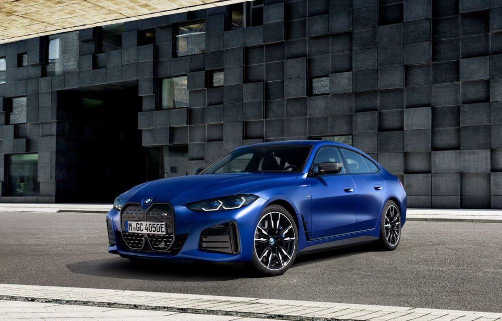 BMW a publicat toate detaliile despre electricul i4: versiune M50 cu 544 de cai putere - Poza 19