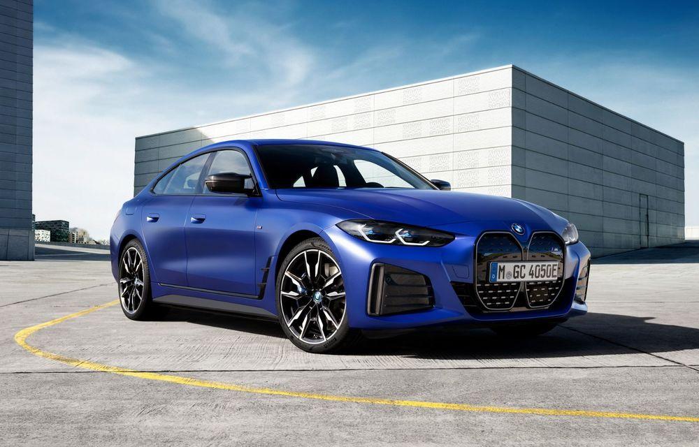 BMW a publicat toate detaliile despre electricul i4: versiune M50 cu 544 de cai putere - Poza 1