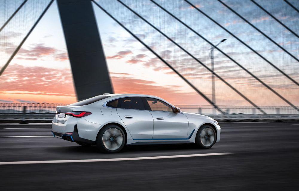 BMW a publicat toate detaliile despre electricul i4: versiune M50 cu 544 de cai putere - Poza 3