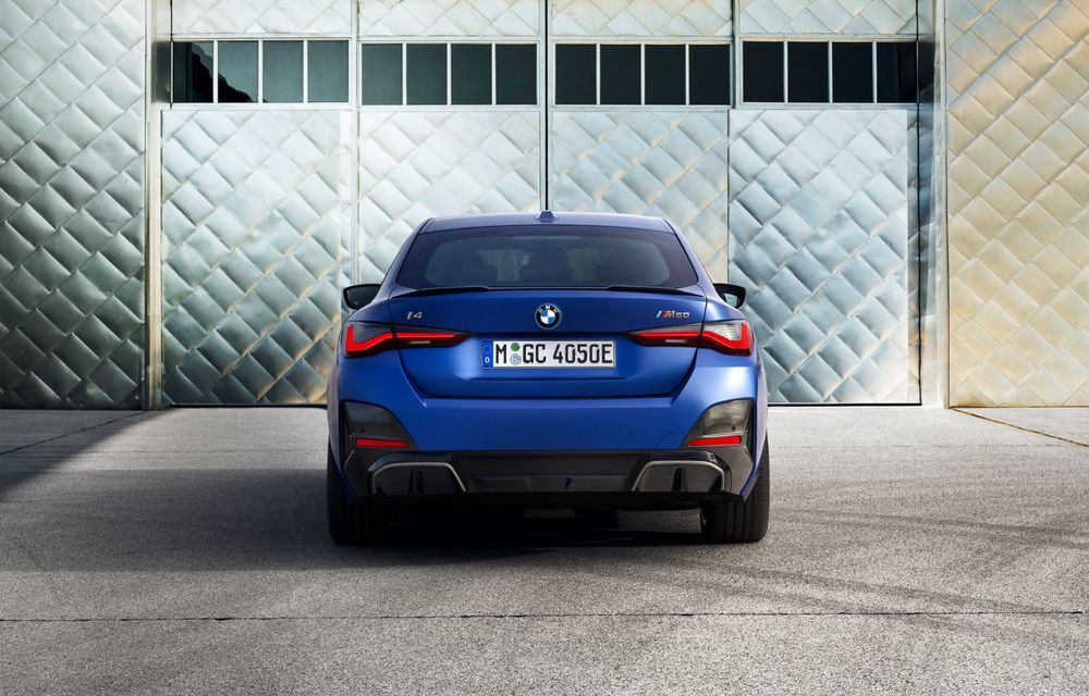 BMW a publicat toate detaliile despre electricul i4: versiune M50 cu 544 de cai putere - Poza 15