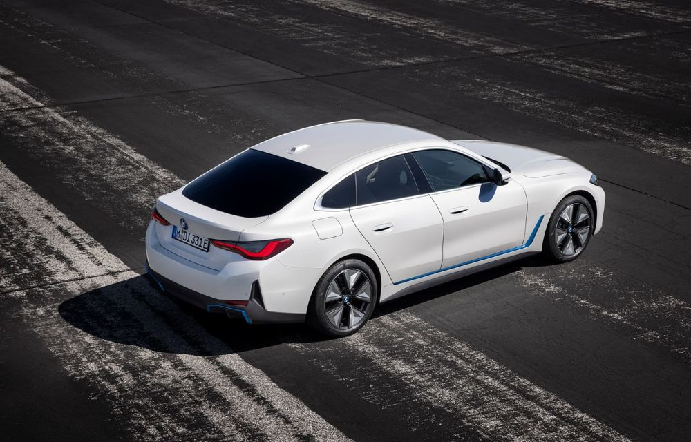 BMW a publicat toate detaliile despre electricul i4: versiune M50 cu 544 de cai putere - Poza 9