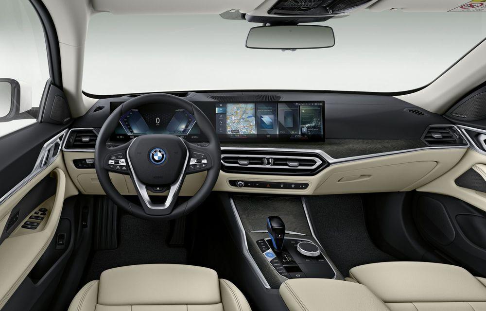 BMW a publicat toate detaliile despre electricul i4: versiune M50 cu 544 de cai putere - Poza 11
