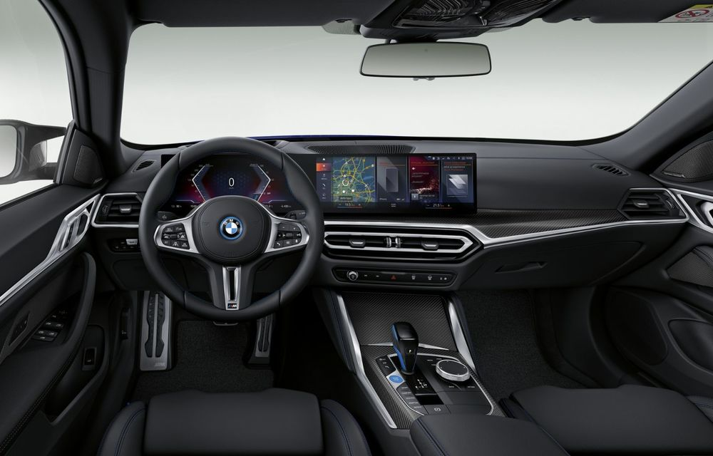BMW a publicat toate detaliile despre electricul i4: versiune M50 cu 544 de cai putere - Poza 20