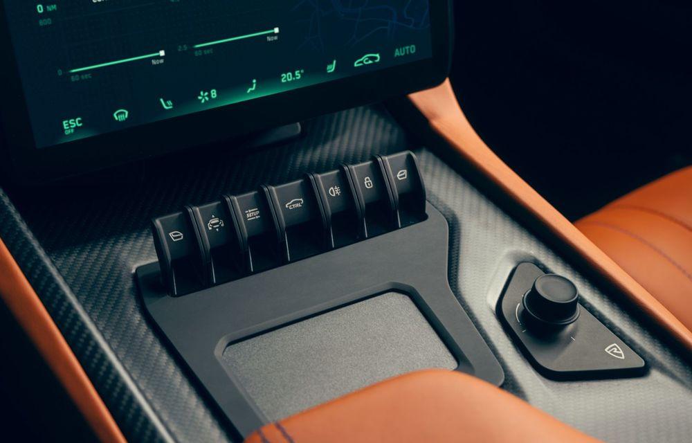 Rimac Nevera: versiunea de producție a conceptului C_Two are 1.914 CP și autonomie de 550 km - Poza 19
