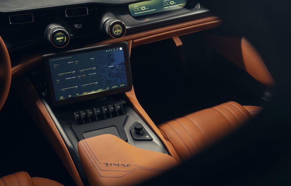Rimac Nevera: versiunea de producție a conceptului C_Two are 1.914 CP și autonomie de 550 km - Poza 18