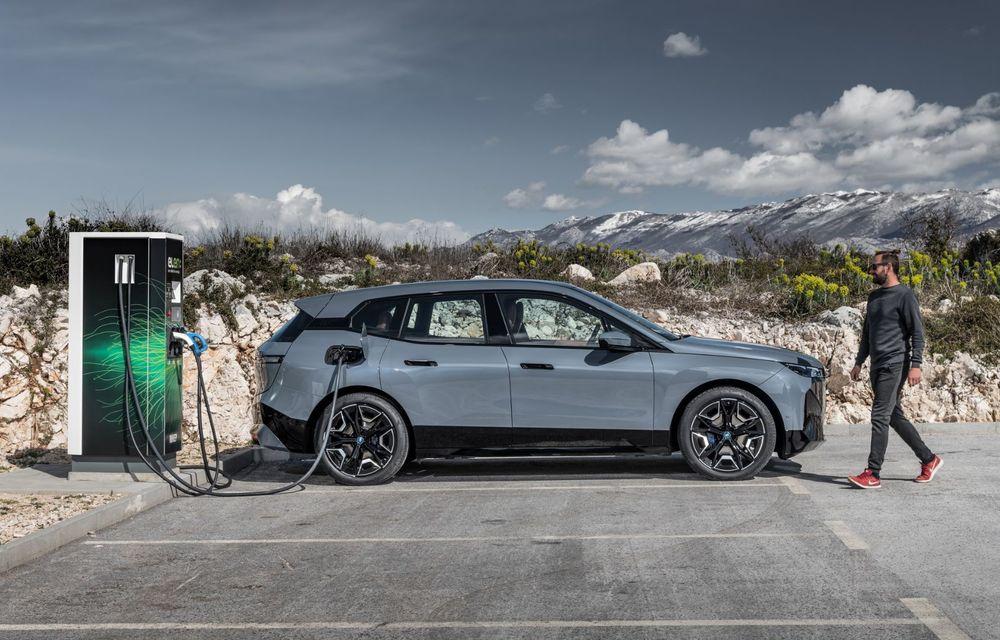 BMW iX în detaliu: până la 523 de cai putere și 630 de kilometri autonomie maximă - Poza 9