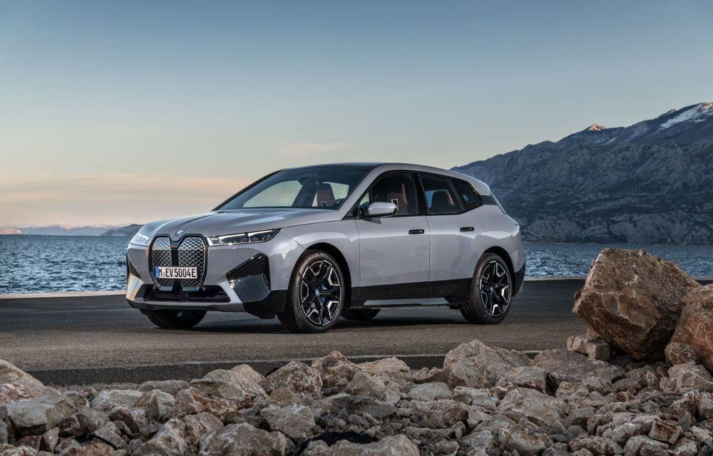 BMW iX în detaliu: până la 523 de cai putere și 630 de kilometri autonomie maximă - Poza 3