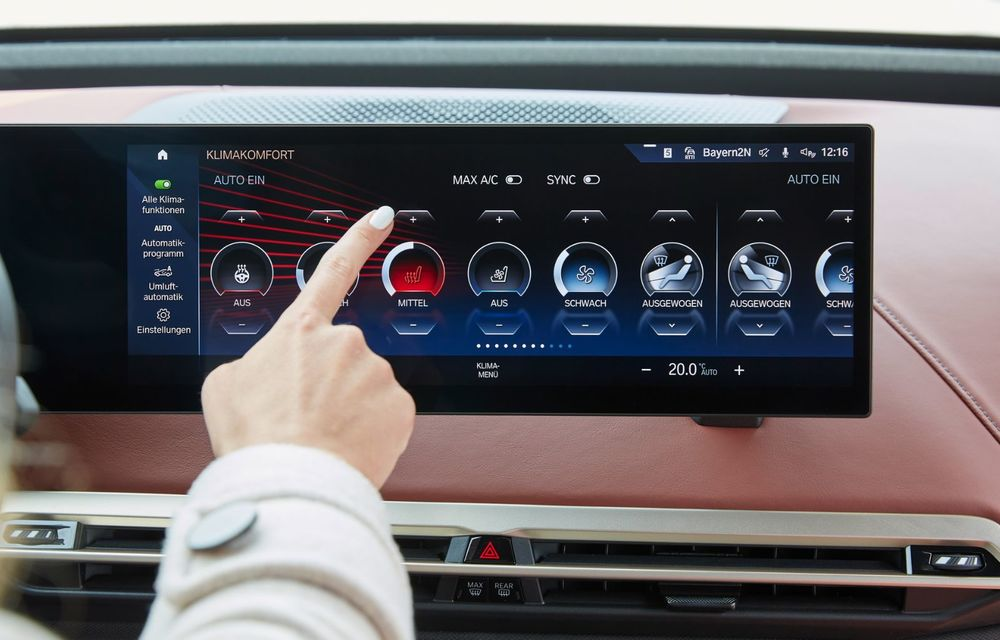 BMW iX în detaliu: până la 523 de cai putere și 630 de kilometri autonomie maximă - Poza 17