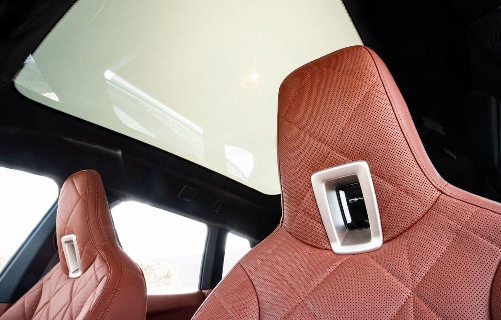 BMW iX în detaliu: până la 523 de cai putere și 630 de kilometri autonomie maximă - Poza 20