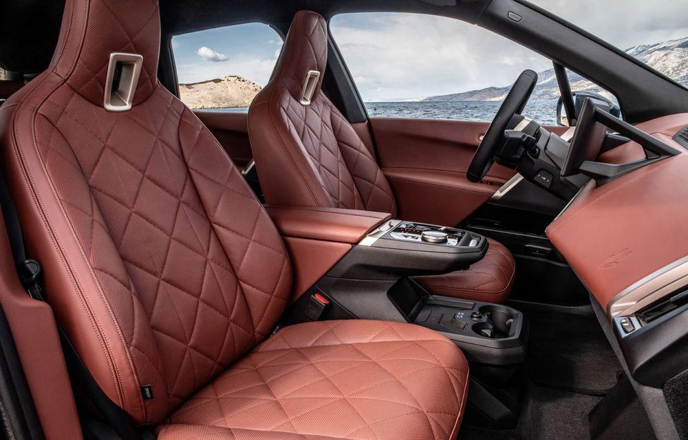 BMW iX în detaliu: până la 523 de cai putere și 630 de kilometri autonomie maximă - Poza 16