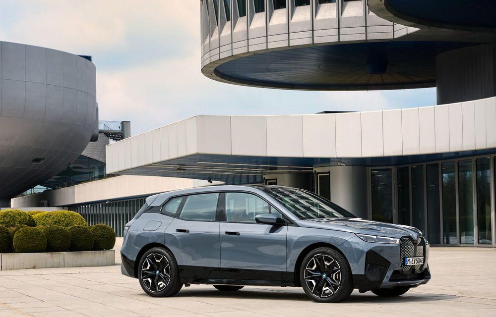 BMW iX în detaliu: până la 523 de cai putere și 630 de kilometri autonomie maximă - Poza 2