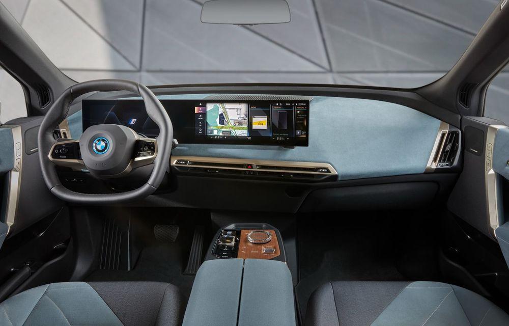 BMW iX în detaliu: până la 523 de cai putere și 630 de kilometri autonomie maximă - Poza 13